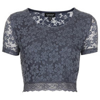 Lace Crop Tee - New In This Week  - New In