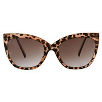 ASOS Tort Ridge Detail Cat Eye Sunglasses at asos.com
