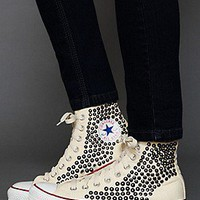Converse  Tommy Studded Chucks at Free People Clothing Boutique