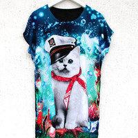 Captain Cat Tee | BATOKO