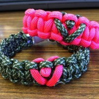 His and Hers Paracord Bracelet:Amazon:Everything Else