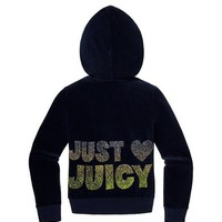 Girls Just Love Juicy Velour Hoodie S-XL