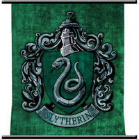 Harry Potter and the Half-Blood Prince Slytherin Wall Scroll |