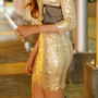 Look Stunning in a Sequined Dress