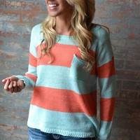 Piace Boutique - Once or Twice Sweater in Tops