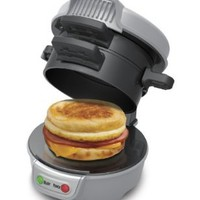 Hamilton Beach 25475 Breakfast Sandwich Maker, Gray:Amazon:Kitchen & Dining