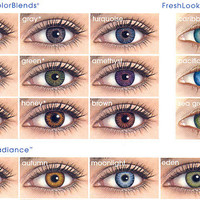 FreshLook ColorBlends - Most Popular Color Contact Lens | EyeCandy's