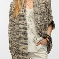 Ecote Chevron Knit Open Cardigan