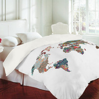 DENY Designs Home Accessories | Bianca Green Louis Armstrong Told Us So Duvet Cover