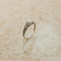 Antique Engagement Ring  Platinum and Diamond by SITFineJewelry