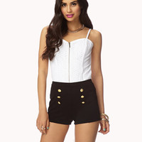 Knit Sailor Shorts | FOREVER21 - 2046053419