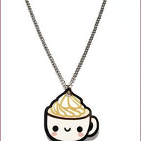 Happy Cup Necklace