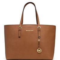 MICHAEL Michael Kors  Medium Jet Set Saffiano Travel Tote
