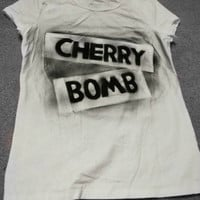 Cherry Bomb Shirt, Joan Jett-The Runaways