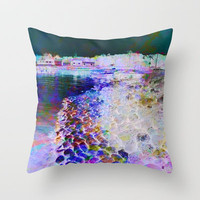 Candy Land Throw Pillow by Gréta Thórsdóttir