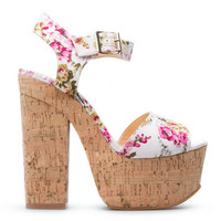ShoeDazzle Vic Toria Retro Platform