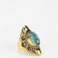 Urban Outfitters - Natalie B Jewelry Kelsey Turquoise Saddle Ring