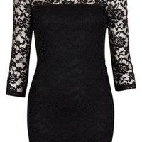 Lace Bodycon Dress - Dresses - Clothing - Topshop USA