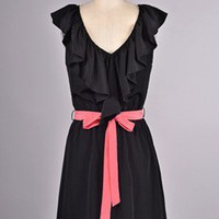 Pink Bow Dress - Bella Style Boutique