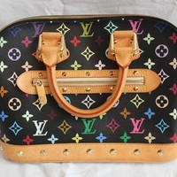 Pre-owned Authentic Louis Vuitton ALMA PM