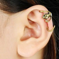 Fashion Vintage Gecko Ear Cuff