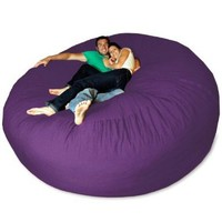 Micro Suede Giant Bean Bag Chair:Amazon:Home &amp; Kitchen