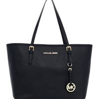 MICHAEL Michael Kors  Small Jet Set Saffiano Travel Tote