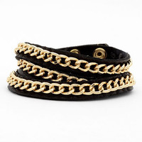 Tasha Leather Wrap Bracelet | Nordstrom