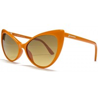 Tom Ford Anastasia Sunglasses Shiny Orange
