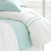Pine Cone Hill Ruched Sky Duvet Cover
