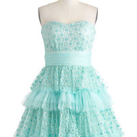 Seafoam and Be Seen Dress | Mod Retro Vintage Dresses | ModCloth.com