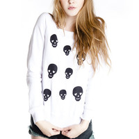 Til The Day I Die Skull Sweatshirt - Jawbreaking