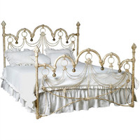 Polonaise Iron Bed in Choice of Finish
