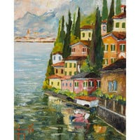 Saint Tropez I Canvas - Wall Decor - Category - PoshLiving