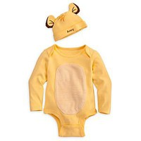 Simba Disney Cuddly Bodysuit Set for Baby - Personalizable | Disney Store