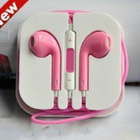 romefashion — sweet pink iphone 4/4s/5/ipad earphone headphone