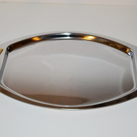 Vintage Kromex Serving Relish Tray Barware Hollywood Regency Décor Mid Century Serving Tray