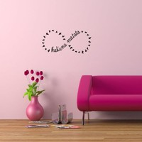 Wall Vinyl Sticker Decals Art Mural Hakuna Matata Words Os250:Amazon:Home &amp; Kitchen