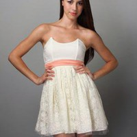 White Party Dress|Dance Dress $87