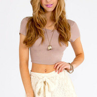 True Harmony Lace Shorts $32