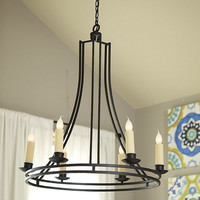 Elton 6-Light Chandelier  | Ballard Designs