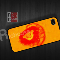 lion king case Case iPhone 4 Case iPhone 4s Case iPhone 5 Case idea case movie case cartoon case simba case