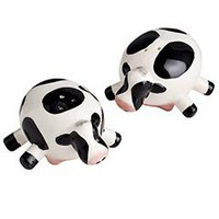 Udderly Cow Salt &amp; Pepper Set