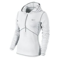 Nike Store. Nike Brushed Half-Zip Women&#x27;s Hoodie