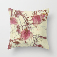 in all my life Throw Pillow by Beverly LeFevre