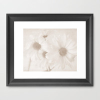 Daisies II Framed Art Print by Sweet Moments Captured