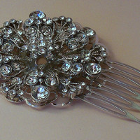 Bridal Hair Comb, Crystal Bridal Comb, Bridal Hair Accessories, Wedding Hair Comb, Crystal Hair Comb, Vintage Style