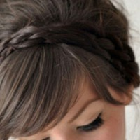 Braid, makeup, and photography idea