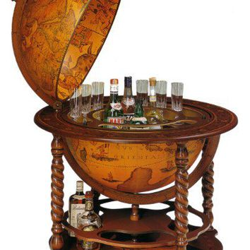 Old World Bar Globe