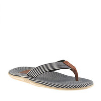 Island Slipper Stripe Flip-Flops